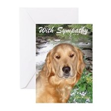 Golden Retriever Sympathy Card (Pk of 10)