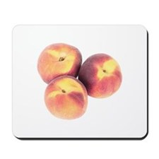 Three Peach Mousepad