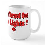 Afraid of the Dark? Large Mug