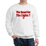 Afraid of the Dark? Sweatshirt