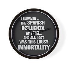 Lousy Immortality! Wall Clock