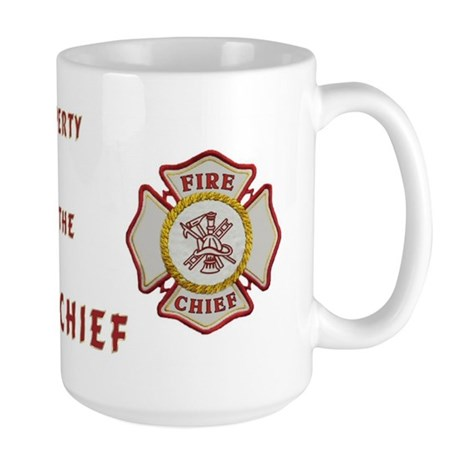 Fire Chief Property Large Mug