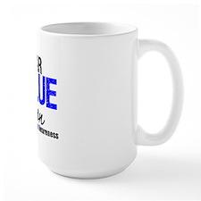 I Wear Blue (Son) Mug