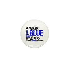 I Wear Blue (Son) Mini Button (10 pack)