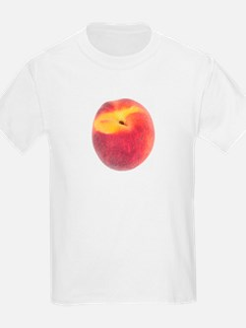 Atlanta Fuzzy Peach T-Shirt