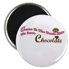 """Chocolate Lover 2.25"""" Magnet (100 pack)"""