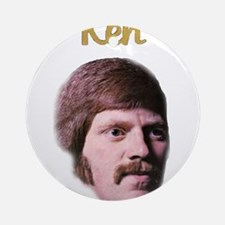 Ken's Classic Christmas Ornament (Round)