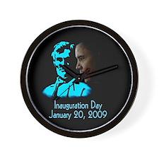 Unique Obama lincoln Wall Clock