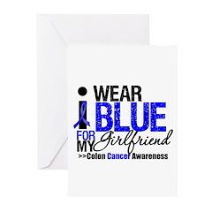 I Wear Blue (Girlfriend) Greeting Cards (Pk of 10)