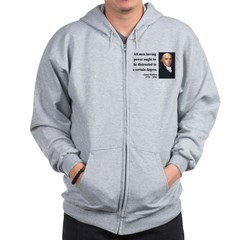 James Madison 1 Zip Hoodie