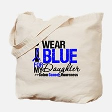 I Wear Blue (Daughter) Tote Bag