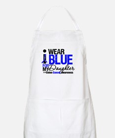 I Wear Blue (Daughter) BBQ Apron