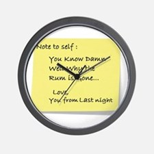 Note to self... Wall Clock