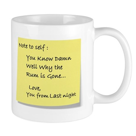 Note to self... Mug