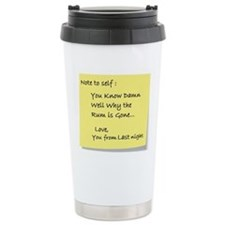 Note to self... Thermos Mug