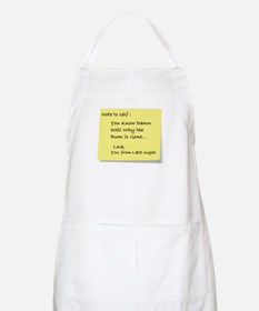 Note to self... BBQ Apron