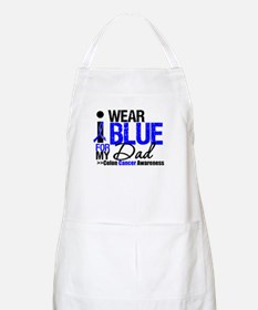 I Wear Blue (Dad) BBQ Apron