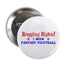 """Fantasy Football Winner! 2.25"""" Button"""
