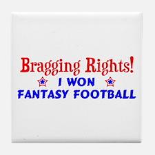 Fantasy Football Winner! Tile Coaster