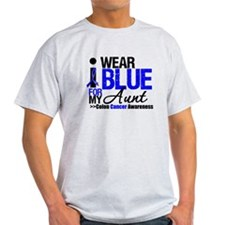 I Wear Blue (Aunt) T-Shirt