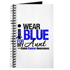 I Wear Blue (Aunt) Journal