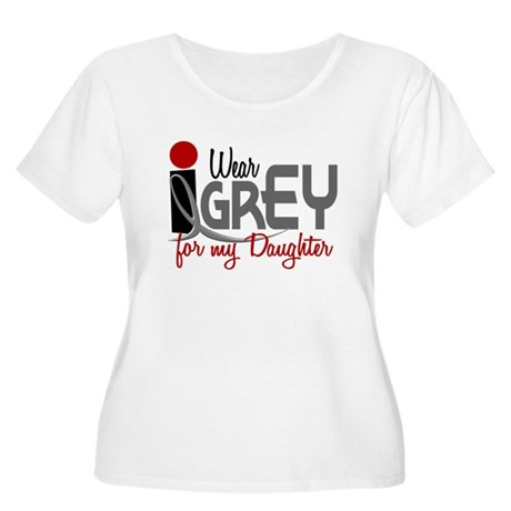 I Wear Grey For My Daughter 32 Women's Plus Size S