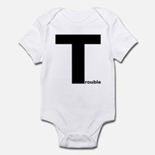 Trouble Infant Bodysuit
