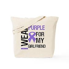 IWearPurpleGirlfriend Tote Bag
