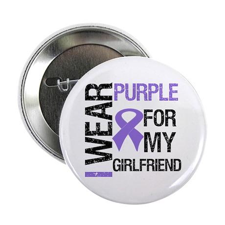 """IWearPurpleGirlfriend 2.25"""" Button (10 pack)"""