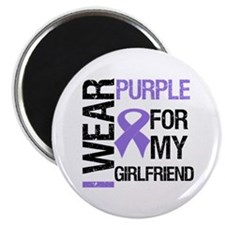 "IWearPurpleGirlfriend 2.25"" Magnet (10 pack)"