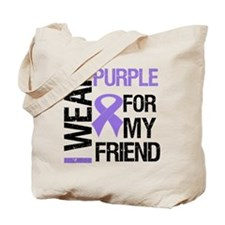 IWearPurpleFriend Tote Bag