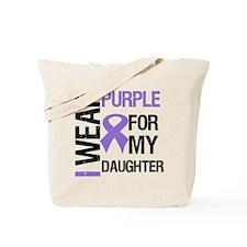 IWearPurpleDaughter Tote Bag