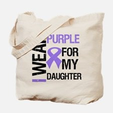 IWearPurpleDaughter Tote Bag