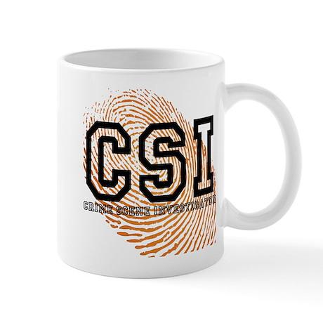 CSI TV Show Mug
