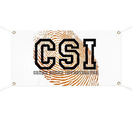 CSI TV Show Banner