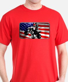 AMERICAN QUADDER! T-Shirt