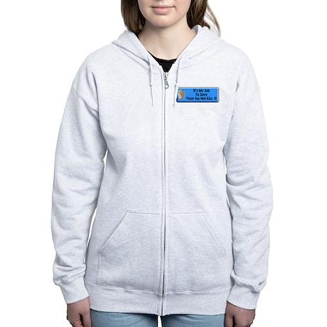 Save Your Ass Women's Zip Hoodie