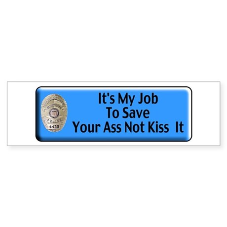Save Your Ass Bumper Sticker