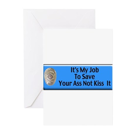 Save Your Ass Greeting Cards (Pk of 10)