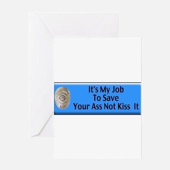 Save Your Ass Greeting Card