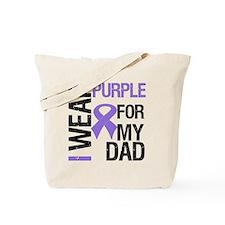 IWearPurpleDad Tote Bag