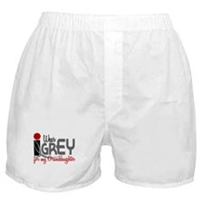 I Wear Grey For My Granddaughter 32 Boxer Shorts