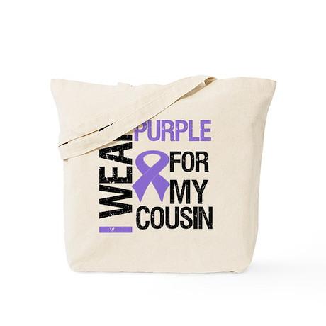 IWearPurpleCousin Tote Bag