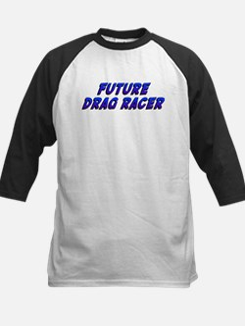 Future Drag Racer Kids Baseball Jersey