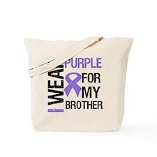 IWearPurpleBrother Tote Bag