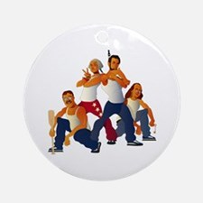 American Forefathers Ornament (Round)