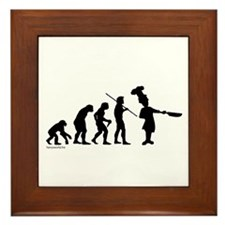 Chef Evolution Framed Tile