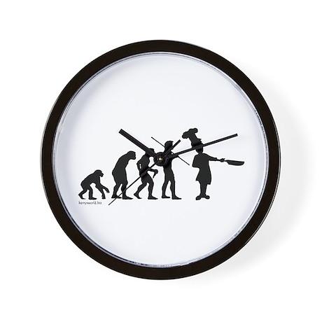 Chef Evolution Wall Clock