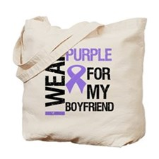 IWearPurpleBoyfriend Tote Bag