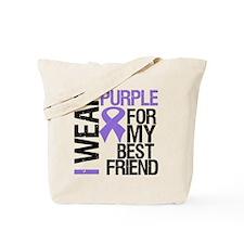 IWearPurpleBestFriend Tote Bag